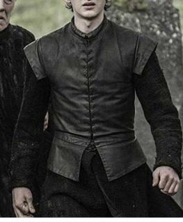 Game Of Thrones Season 7 Bran Stark Leather Vest