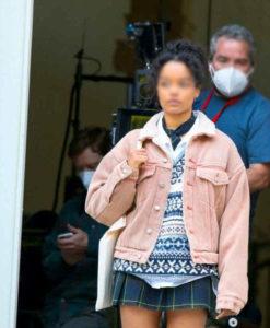 Gossip Girl 2021 Zoya Lott Sherpa Jacket