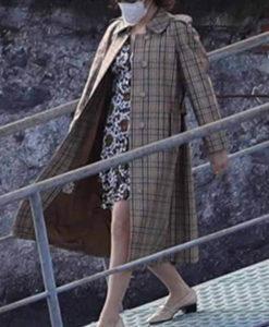 House Of Gucci 2021 Patrizia Reggiani Trench Coat