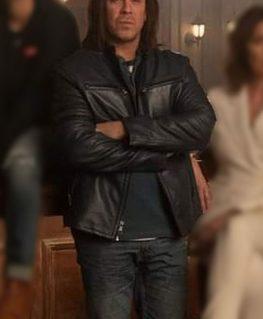 Leverage Redemption Eliot Spencer Leather Jacket
