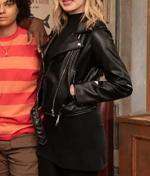 Leverage Redemption Parker Leather Jacket