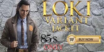 Loki Variant tva Jacket