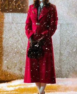 Nightmare Alley 2021 Molly Red Coat