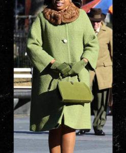 Respect 2021 Aretha Franklin Green Coat
