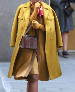 Respect 2021 Aretha Franklin Yellow Coat