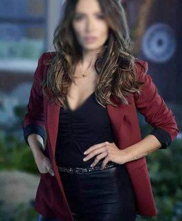 Sex/Life 2021 Billie Connelly Mid Length Blazer