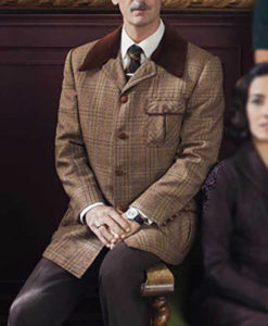 Someone Has to Die Gregorio Plaid Coat