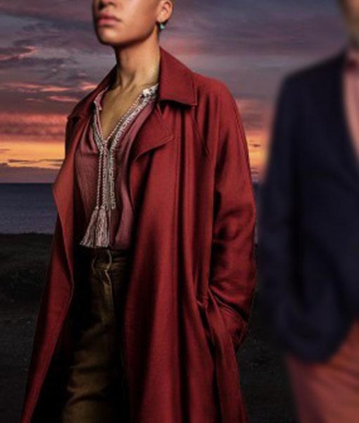 The Beast Must Die Frances Cairnes Coat