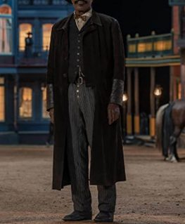 The Harder They Fall Bass Reeves Coat