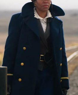 The Harder They Fall Regina King Coat