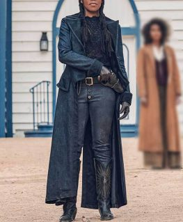 The Harder They Fall Trudy Smith Black Coat