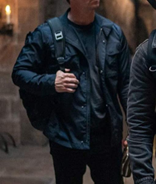 Uncharted 2022 Victor Sullivan Black Jacket