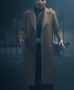 Army of Thieves Gwendoline Brown Coat