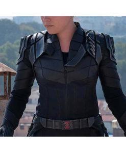 Black Widow 2021 Yelena Belova Leather Jacket