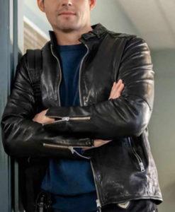 Mystery 101 Travis Burke Leather Jacket