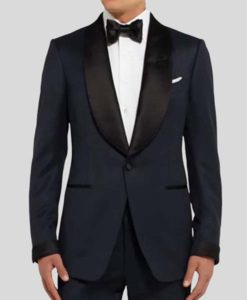No Time To Die James Bond Blue Tuxedo