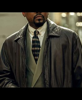 Power Book III Born Ready Leather Coat