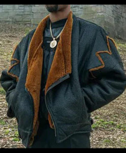 Power Book III Marvin Shearling Jacket