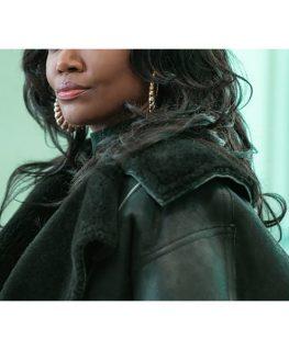 Power Book III Raquel Thomas Leather Jacket