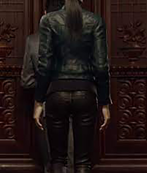 Resident Evil Infinite Darkness Shen May Leather Jacket