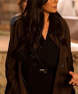 Spiral 2021 Captain Angie Garza Brown Coat