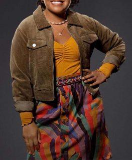 Stargirl S02 Beth Chapel Corduroy Jacket