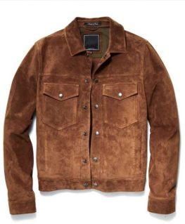The Republic Of Sarah Grover Sims Brown Jacket