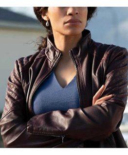 Dopesick 2021 Bridget Meyer Leather Jacket