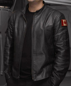 Stargate Atlantis Lt. Colonel John Sheppard Leather Jacket