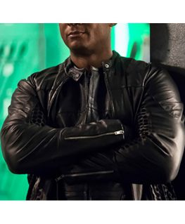 Superman and Lois David Ramsey Leather Jacket