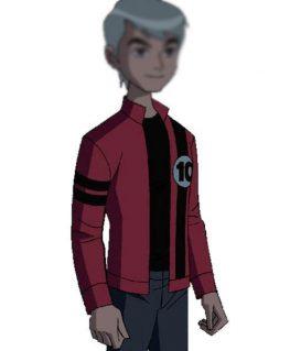 Ben 10 Alien Force Albedo Leather Jacket