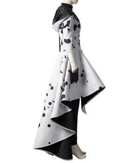 Cruella De Vil Cosplay Coat
