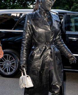 Met Gala 2021 Kim Kardashian Black Coat