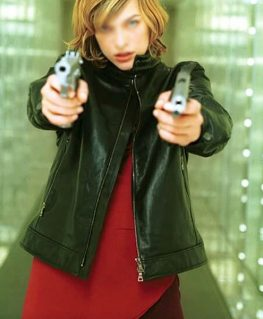 Resident Evil Alice Leather Jacket