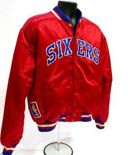76ers Philadelphia Sixers Red Jacket