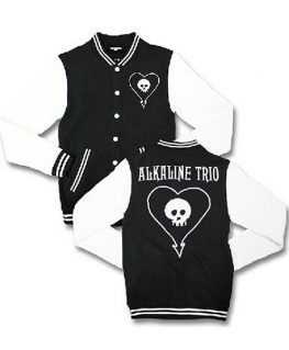 Alkaline Trio Skull Varsity Jacket