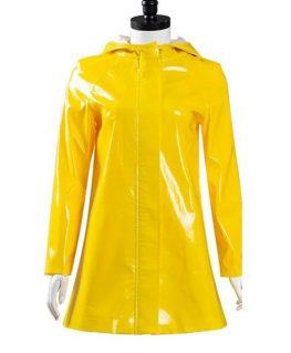 Coraline Dakota Fanning Rain Coat