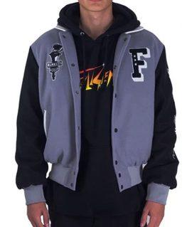 Full Send Nelk Boys Varsity Jacket