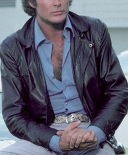 Michael Knight Rider Leather Jacket