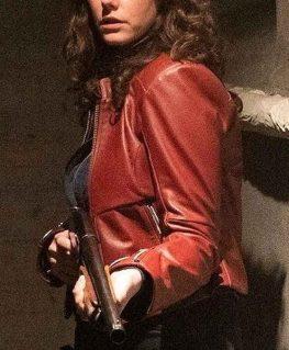 Resident Evil Claire Redfield Biker Jacket